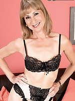 60 Plus MILFs - 60something And Gaping - Patsy (55 Photos)