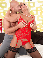 60 Plus MILFs - First-Timer Regi Sucks, Fucks And Gapes - Regi (49 Photos)