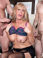 60 Plus MILFs - A power ass-fucking for the power boss - Phoenix Skye (50 Photos)