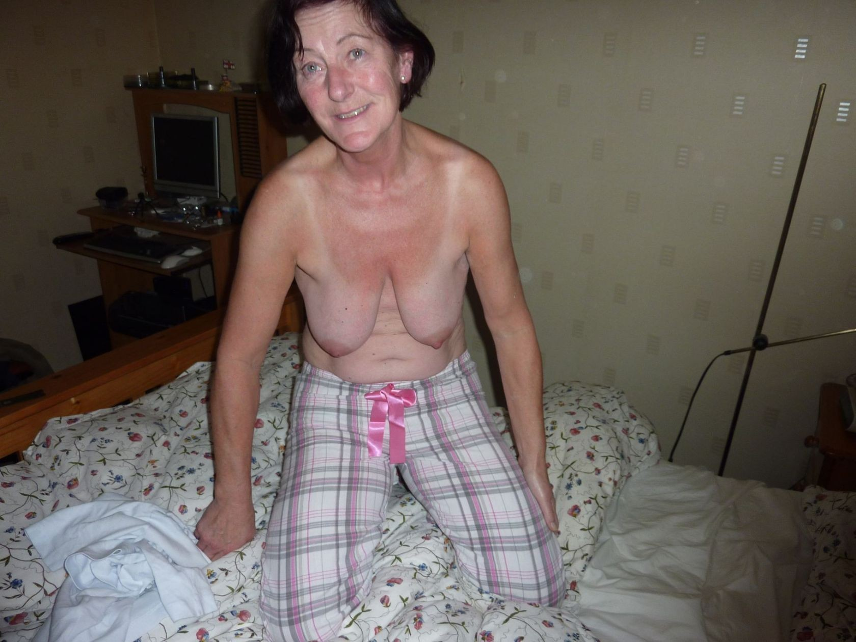 57 year old amateur english teacher miss lang 5